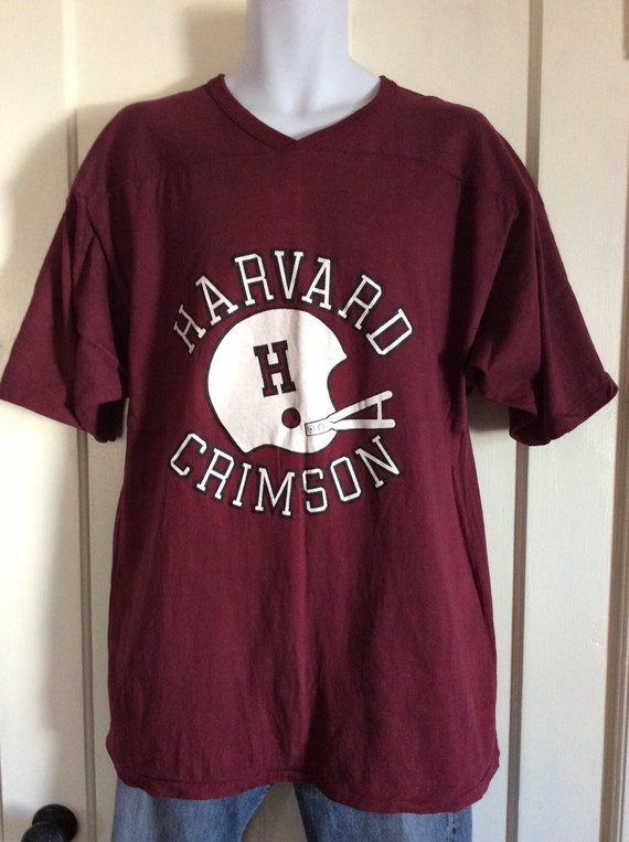 1970s Harvard Crimson football team jersey t-shir… - image 5