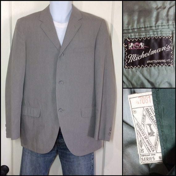 c189536c43a 1960s light weight summer gray with slight olive green sport