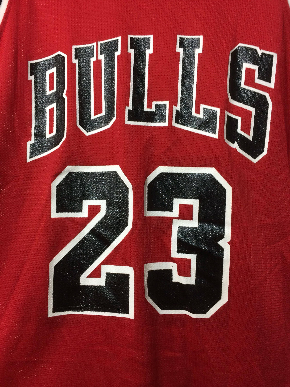 b7ea00c2d4e ... ireland 1990s michael jordan chicago bulls number 23 red black nba  jersey basketball team champion brand