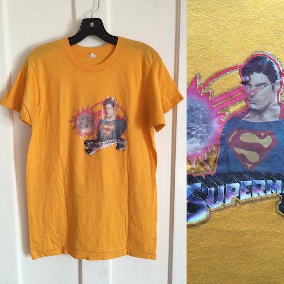 1980 Superman II Movie Iron On print T-shirt look… - image 1