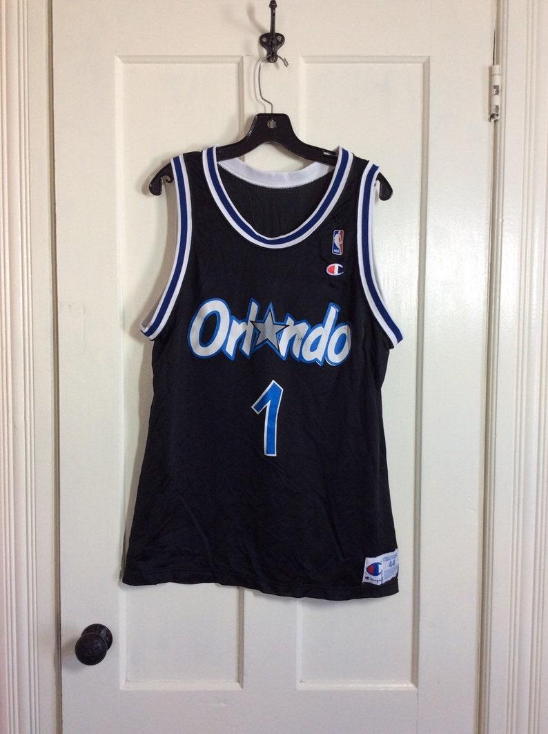 333e6bd7057 1990s Penny Hardaway number 1 Orlando Magic NBA Basketball | Etsy