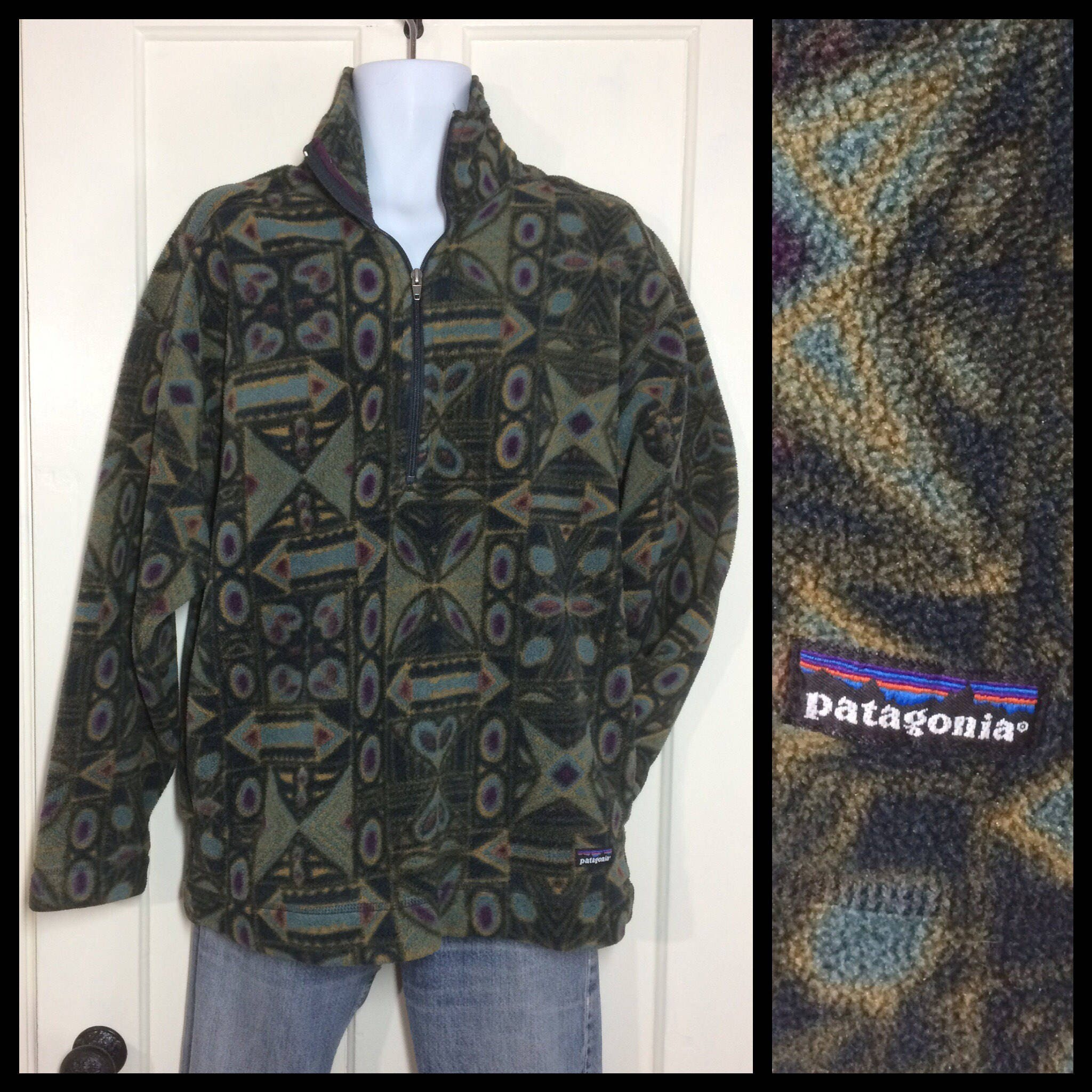 Patterned Patagonia Fleece Magnificent Decorating