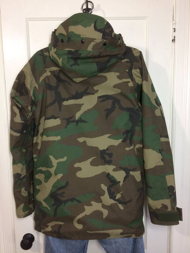 26c68b8aa1679 1990's 1992 military camouflage cold weather parka jacket | Etsy