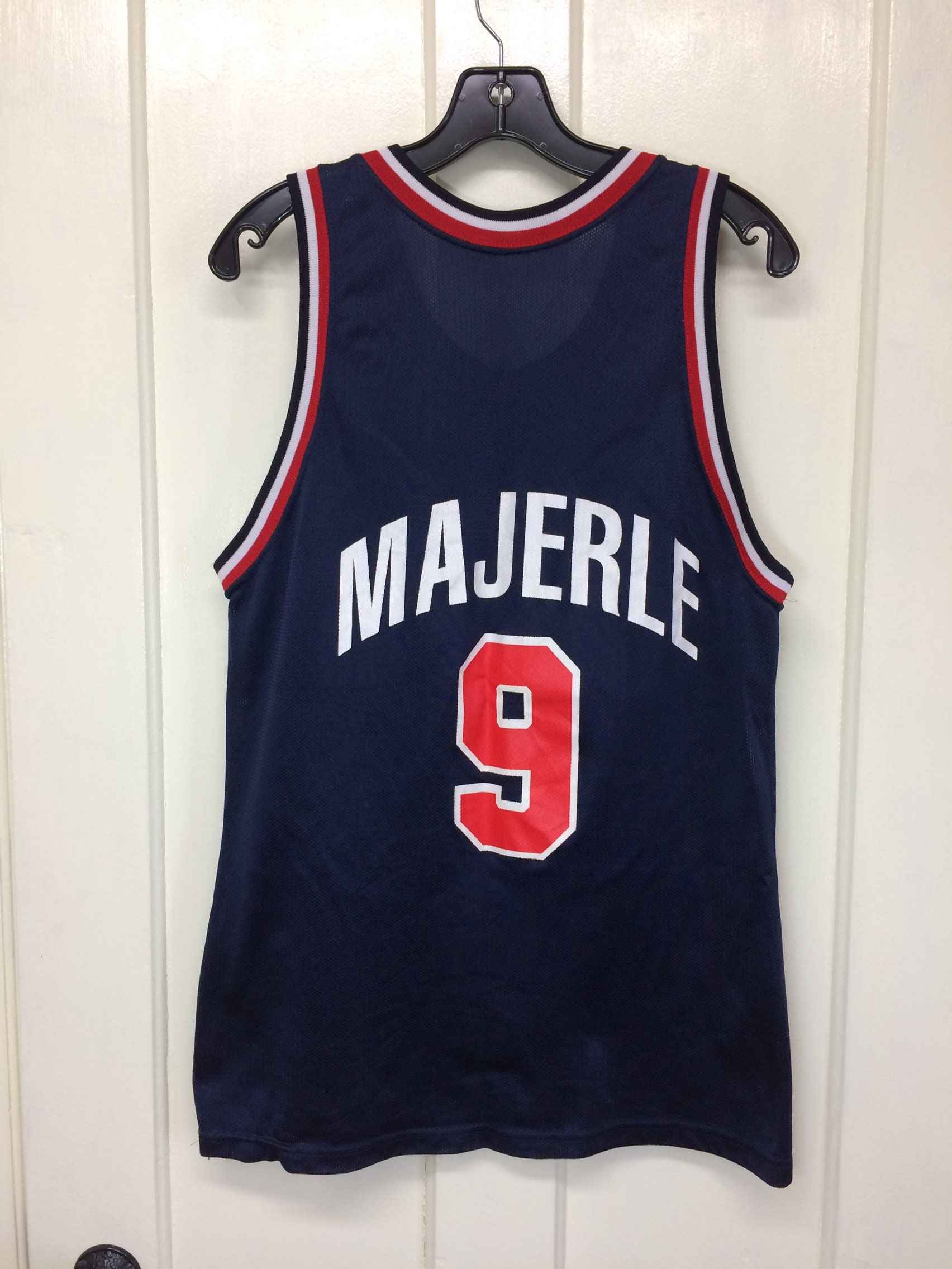 detailing 434af 51ccc 1990s USA Olympics basketball team Dan Majerle number 9 ...