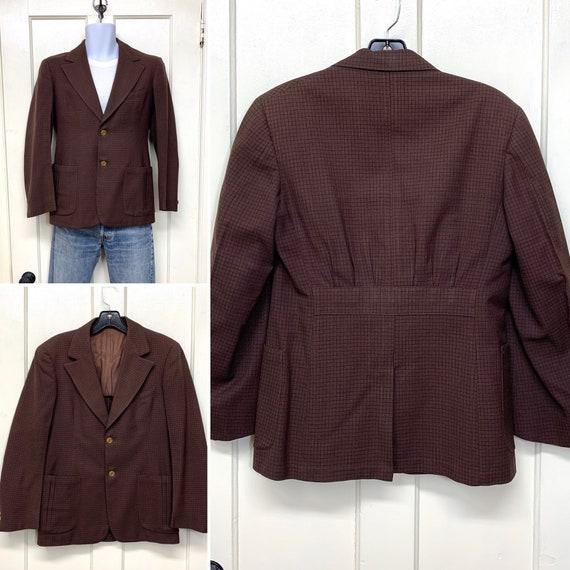 1920s 1930s back belted gabardine tailored sport j