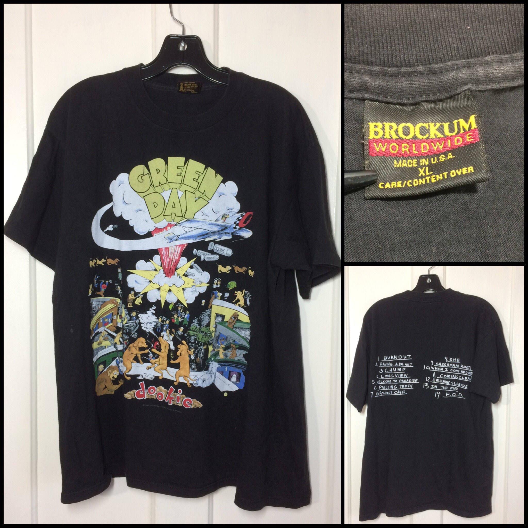 9d5e0ba3a0efa Green Day Rock Band T Shirts - BCD Tofu House