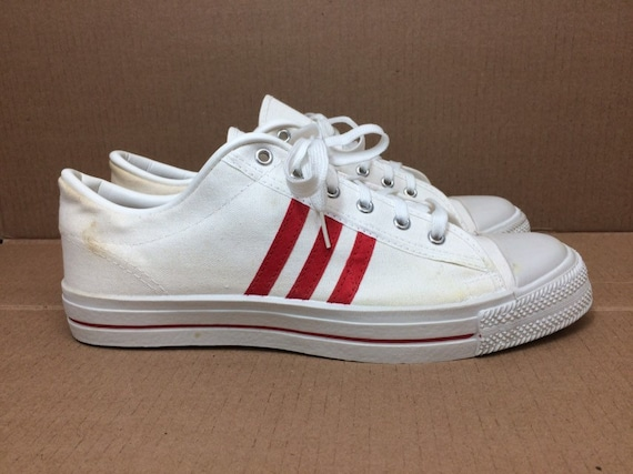 1970s deadstock canvas sneakers size 11 made in US