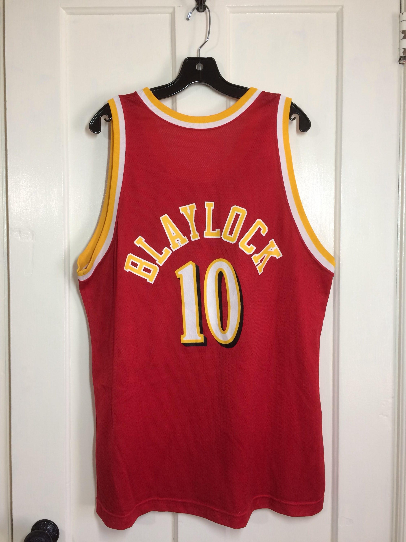 8e17ac0aa 1990 s Atlanta Hawks Daron Oshay