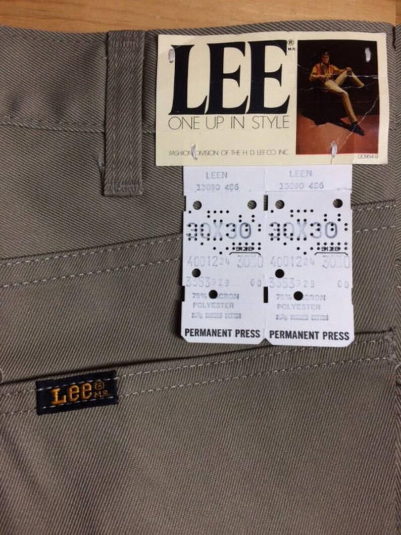 78509e7f 1960s deadstock Lee Leesures Prest tapered peg leg jeans pants   Etsy