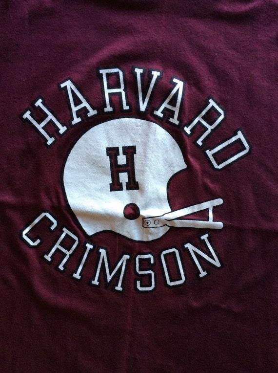 1970s Harvard Crimson football team jersey t-shir… - image 2