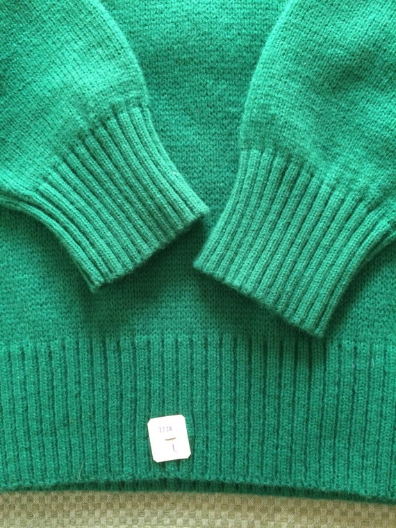 NWT Team in USA deadstock 1980's Celtics Green pullover Pro sleeves made Cliff Kelly sweater Boston striped Engle Basketball NOS Sports OgFwxO