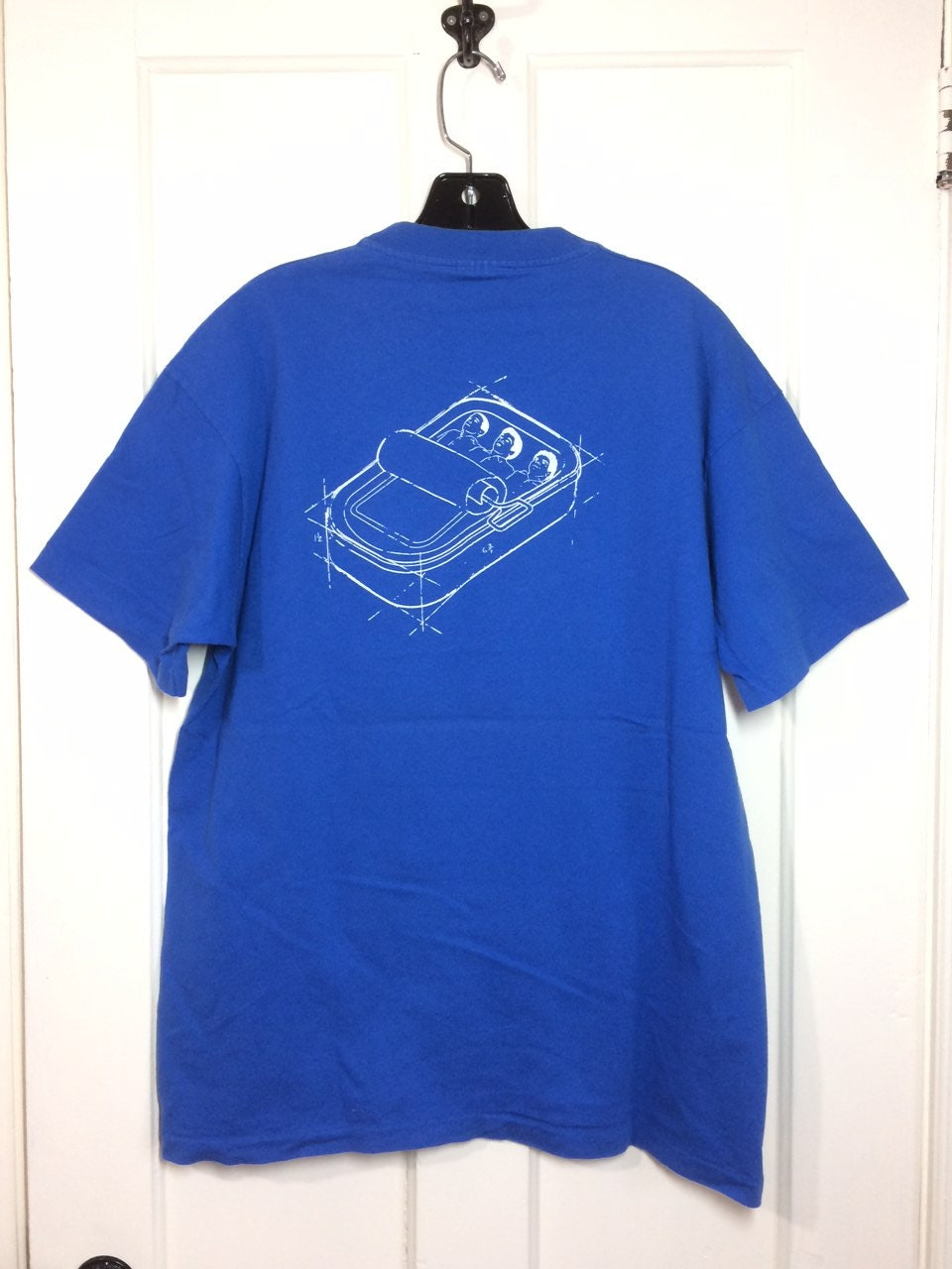 1990s Beastie Boys Hello Nasty T Shirt Looks Size Xl 22x28 5 Blue