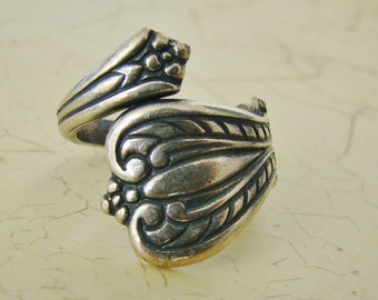 Silver Spoon Ring Birthday Anniversary Mother Gift Yourself Daughter Sister Wife Friend Graduation Birthday - Joyce