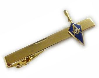 Masonic HINGE FLIP Square Compass Euclid All Seeing Eye Trowel Tie Bar Clip