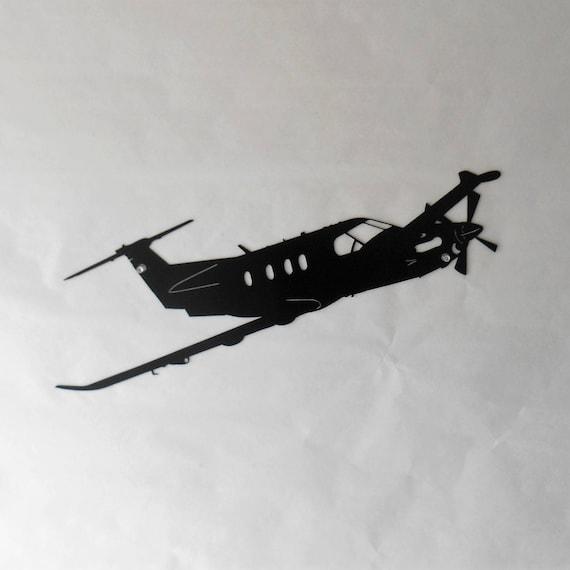 U-28A Aircraft Military Pilatus PC-12 Metal Airplane Wall Art | Etsy