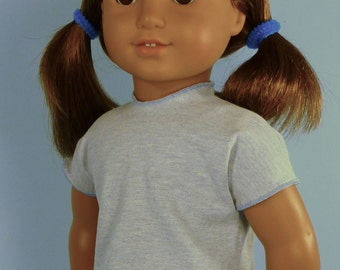 Easiest T Shirt Ever sewing pattern for American Girl, 18 in dolls, My Generation, Springfield
