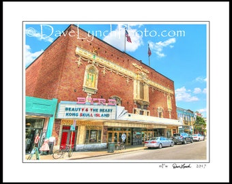 Richmond VA Virginia - Byrd Theatre - Carytown - HDR - Black and White - Sepia - Color - Art Photography Prints by Dave Lynch -