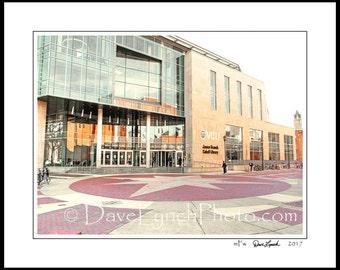 Richmond VA Virginia - VCU - Cabell Library - Rams Basketball - VA Commonwealth University- Ncaa - Art Photography Prints by Dave Lynch