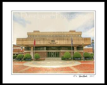 Richmond VA Virginia - VCU - Grace E Harris Hall - Rams Basketball- VA Commonwealth University - Ncaa - Art Photography Prints by Dave Lynch