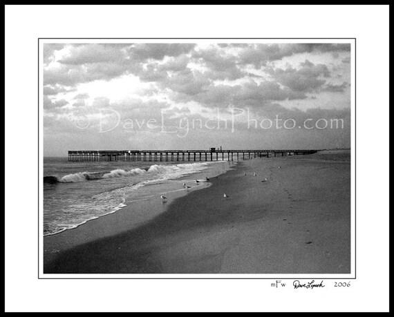 Sandbridge Beach Va Virginia Virginia Beach Pier Shore Etsy