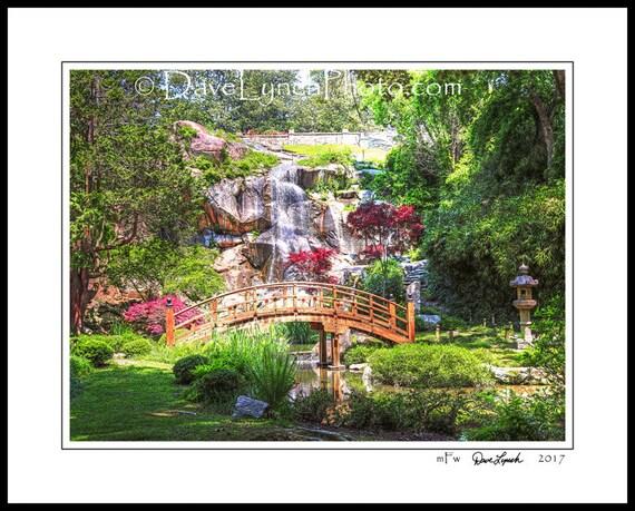 Richmond VA Virginia Maymont Japanese Garden Bridge | Etsy