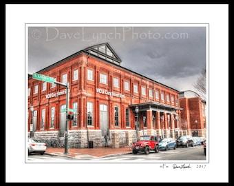 Richmond VA Virginia - VCU - Cary Street Gym - Rams Basketball - VA Commonwealth U - Ncaa Division 1 - Art Photography Prints by Dave Lynch