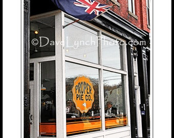 Richmond VA Virginia - Proper Pie Company Co - Bakery - Restaurant - Church Hill  - RVA - Art Photography Prints by Dave Lynch