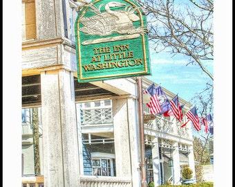 The Inn At Little Washington - Washington Virginia - Color - Sepia - Black and White - by Richmond VA Photographer Dave Lynch