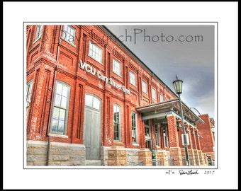 Richmond VA Virginia - VCU - Cary Street Gym - Rams Basketball - VA Commonwealth University- Ncaa - Art Photography Prints by Dave Lynch