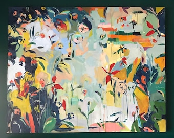 Finding a Rhythm: Large Original Painting