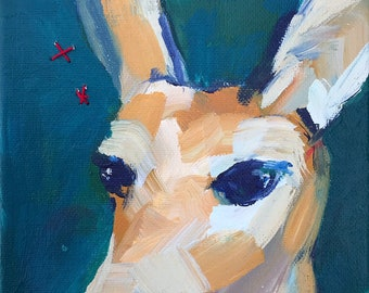 Best Angle: Deer Painting