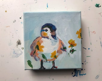 Little Ducky: Small Painting