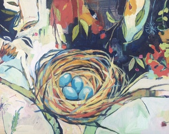 Home: Original Nest Painting