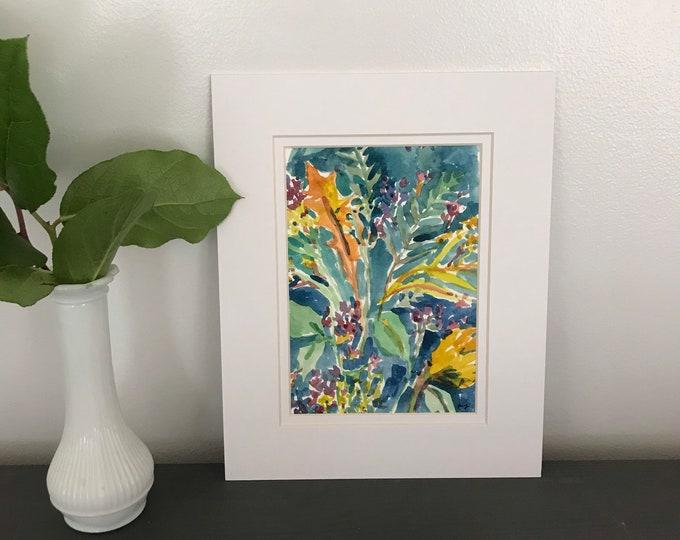 Featured listing image: Beautifully Optimistic, Original Watercolor