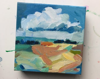 Autumn Land: Small Painting