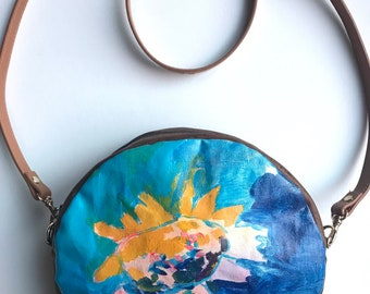 Find Beauty: Purse with Original Painting