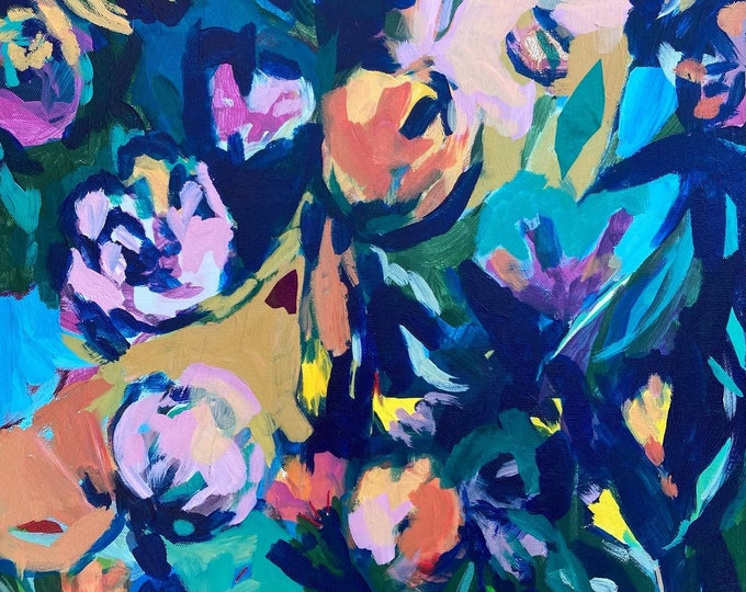 Featured listing image: Summer Dreams: Original Floral