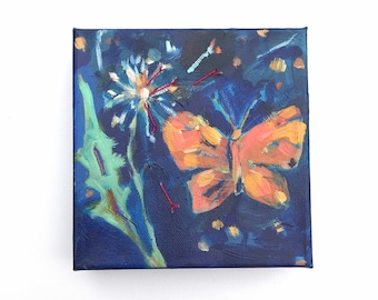 Flutter: Small Butterfly Painting