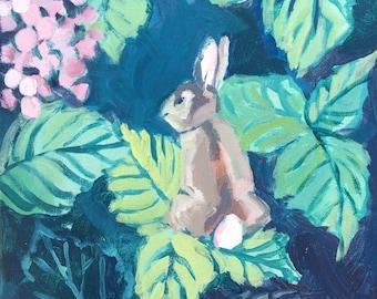 Original Painting: Summer Visitor