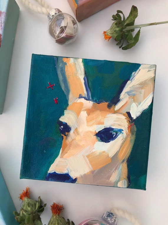 Best Angle: Deer Painting