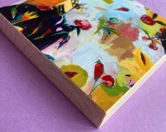Inviting: Limited Edition Woodblock Print