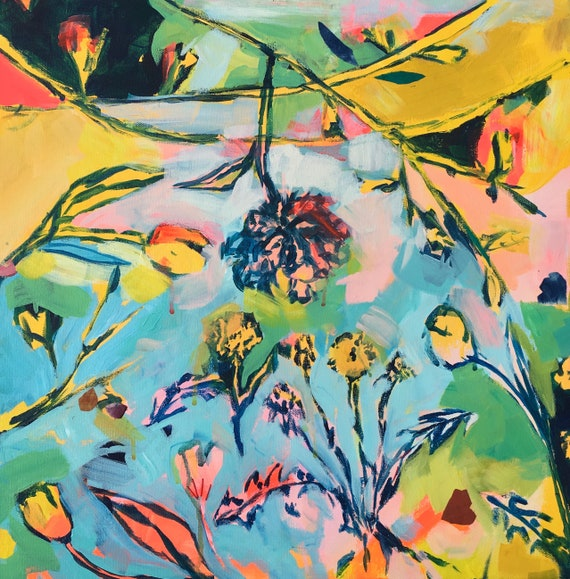 Summer Glow: Floral Art Print