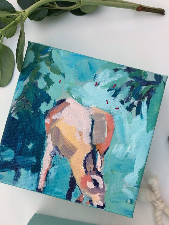 Forest Fawn: Deer Painting