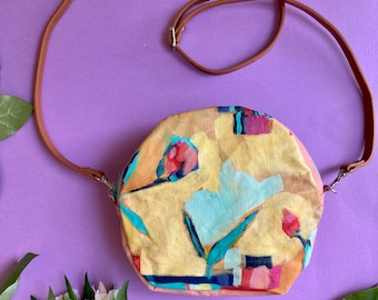 Gentle Reminder, Purse with Original Painting
