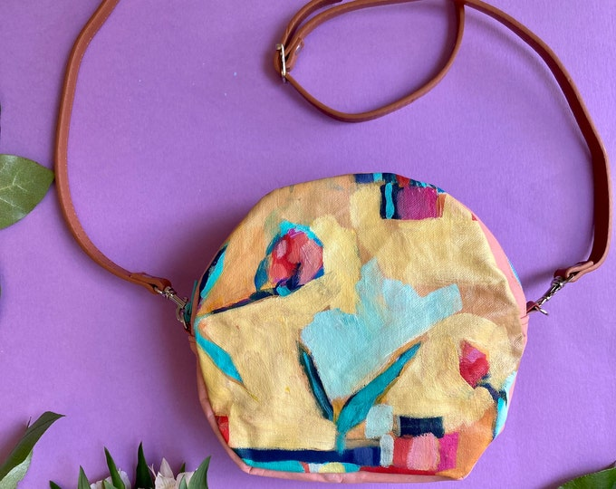 Featured listing image: Gentle Reminder, Purse with Original Painting