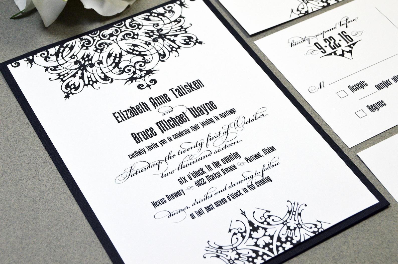 medieval wedding invitations - HD1588×1056