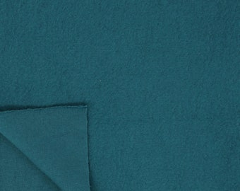 Organic Cotton Fleece - Birch Mod Basics Fleece - Teal