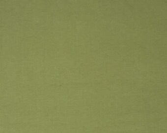 Birch Organic Knit Solids - Olive Solid Knit