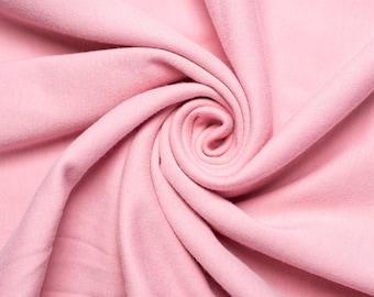 Organic KNIT Fabric - Birch Knit Soilds - Petal Knit Solid