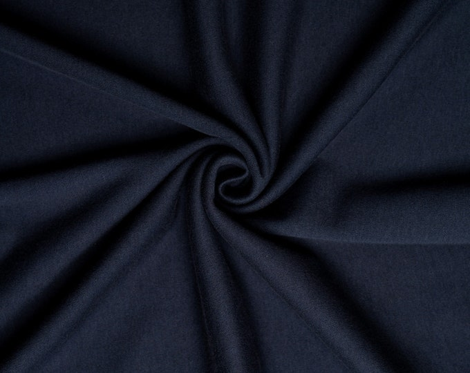 Organic KNIT Fabric - Birch Interlock Knit Soilds - Dusk Solid